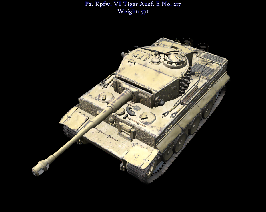The personal tank of the Tank Ace Otto Carius!