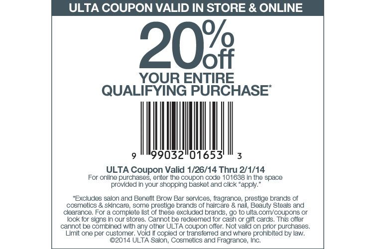 Ulta Store Coupon Dealscouponsfreebies Jcpenney Coupons Ulta