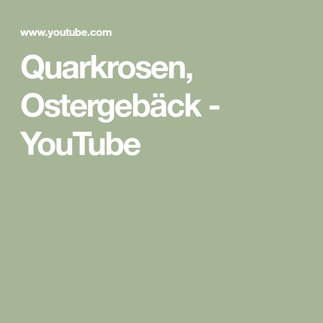 Quarkrosen, Ostergebäck