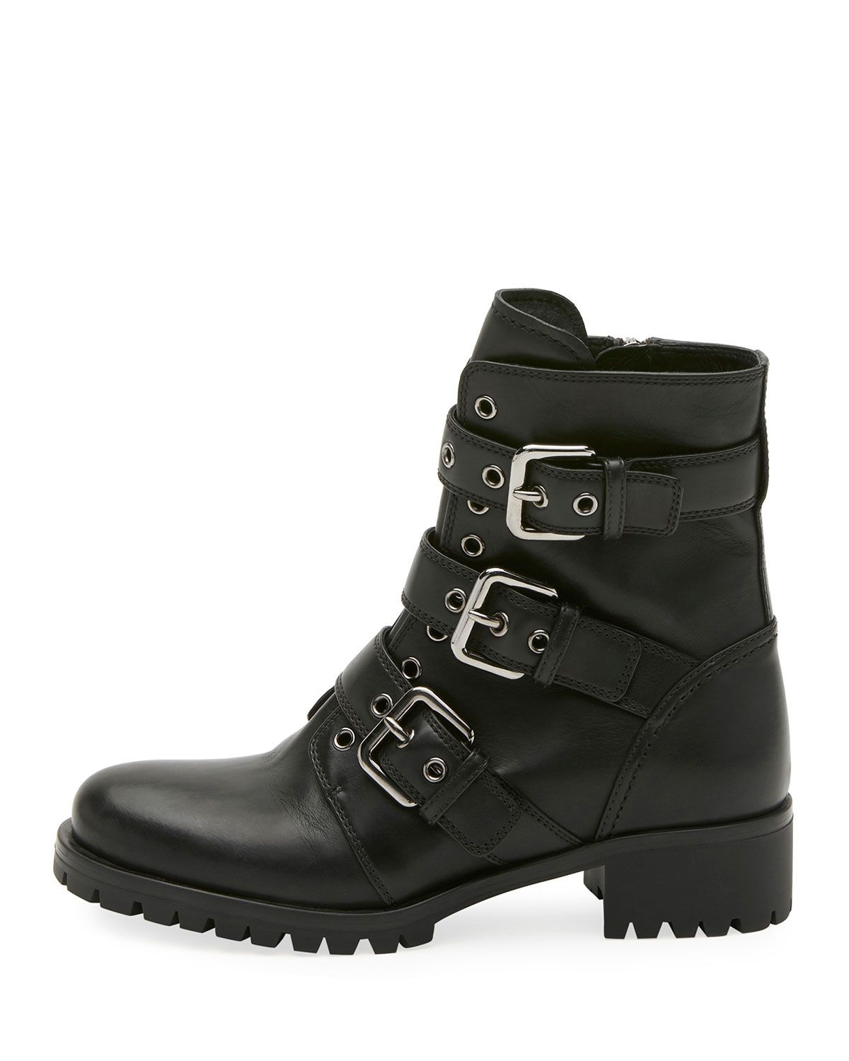 Cool Boots Combat & Buckle Boots