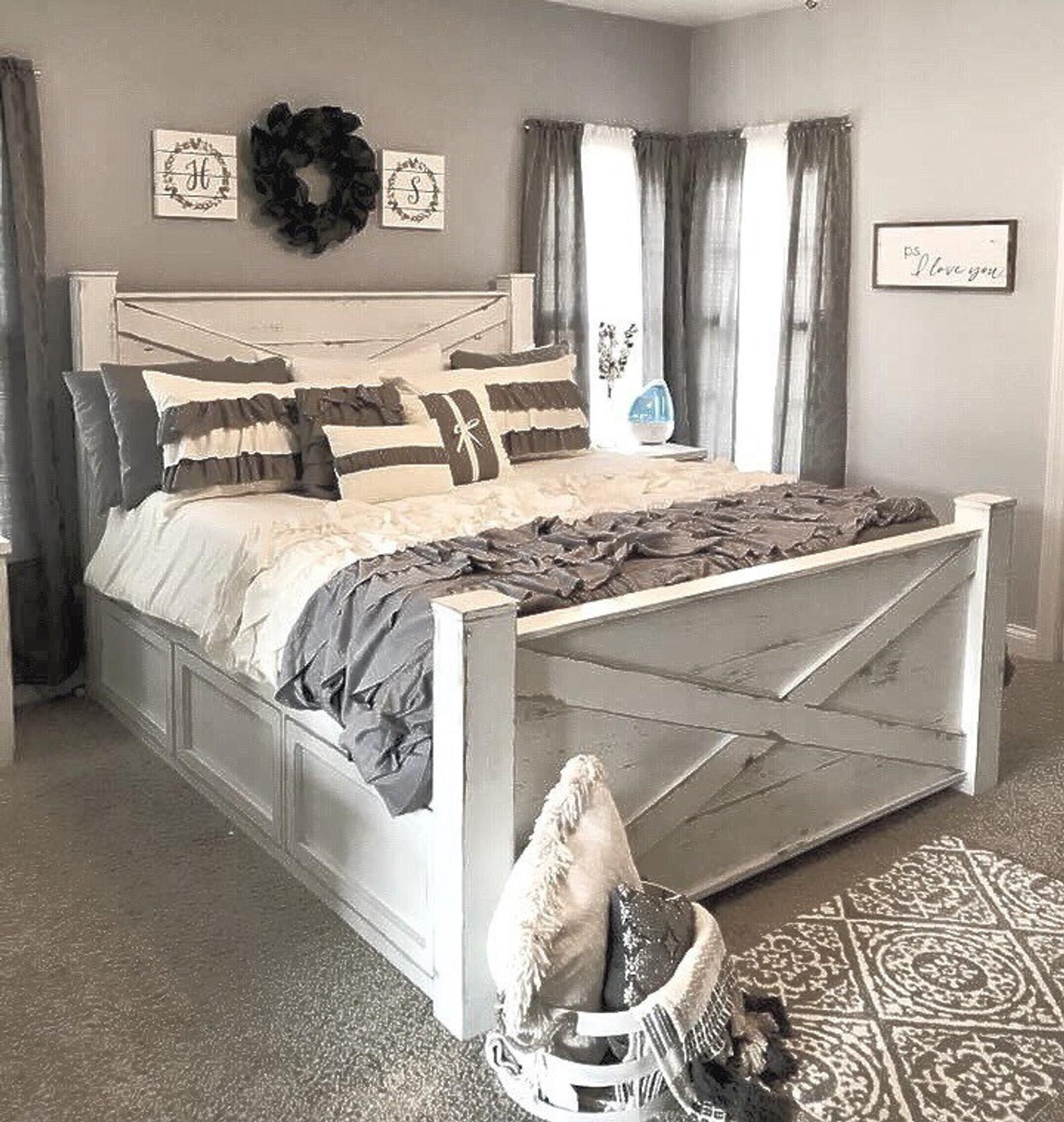 THE OHIO bedroom bed frame