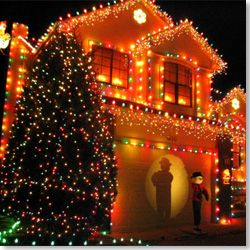 put christmas lights on the outside of your house christmas bucket list