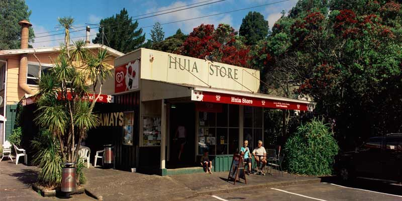 Huia Store Lost The Post Office Side Of The Business When The Shop Owner Was Offered 84c A Day To Run The Postal Service Nz History Landscape Photography Photo