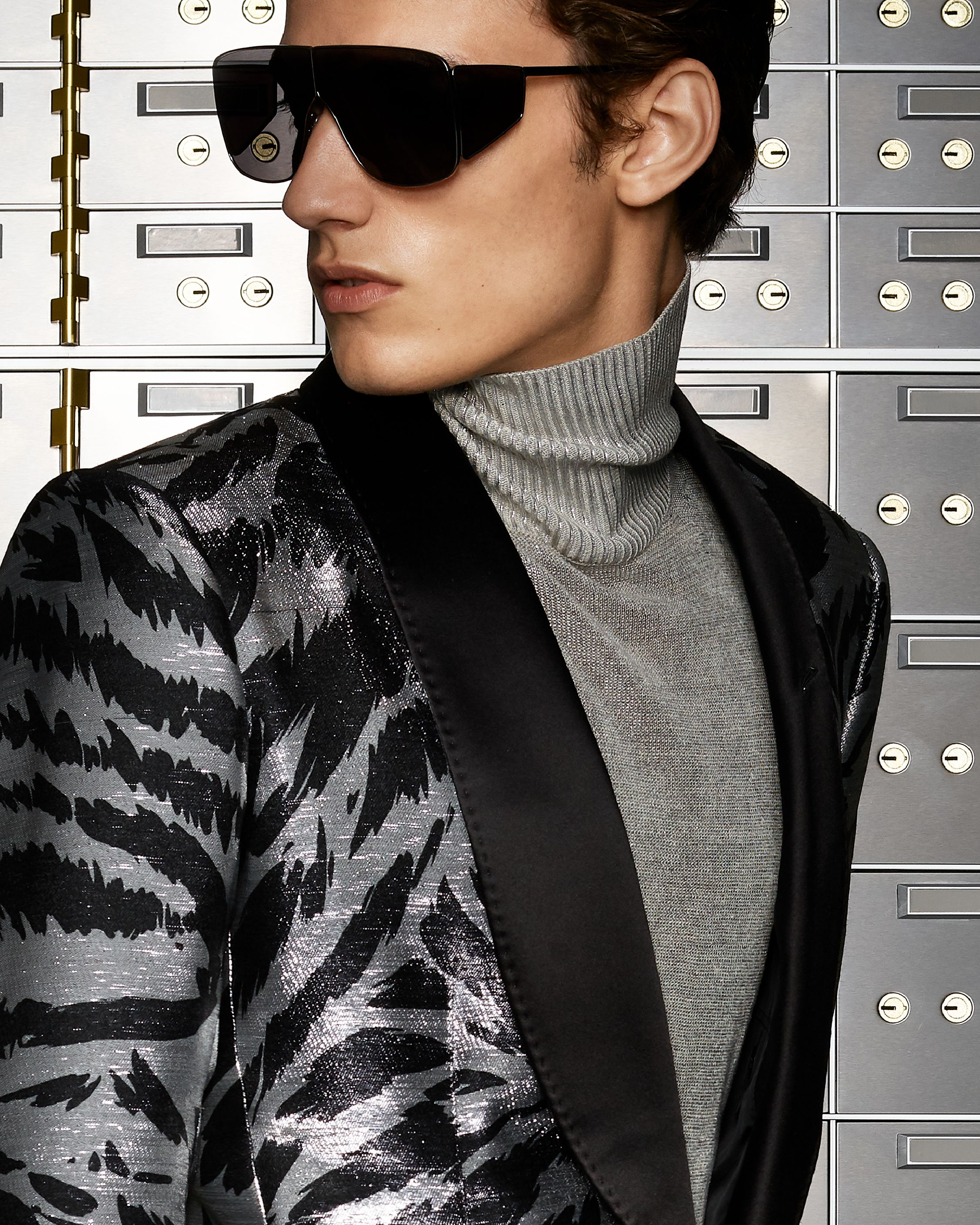 A bold look featuring the Zebra Atticus Cocktail Jacket paired with Spector  Sunglasses.  TOMFORD 958b2601a4bd