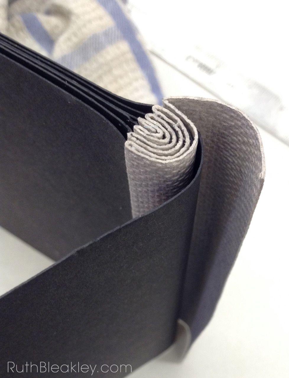 benjamin elbel demonstrating onionskin binding at penland. Black Bedroom Furniture Sets. Home Design Ideas