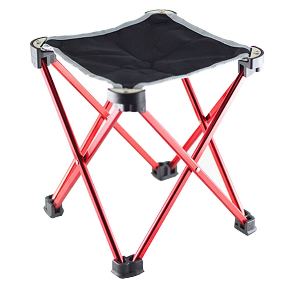 Outdoor Traveling Folding Chair Portable Aluminum Four Leg Stool C&ing Fishing Chair Ultralight  sc 1 st  Pinterest & Outdoor Traveling Folding Chair Portable Aluminum Four Leg Stool ... islam-shia.org