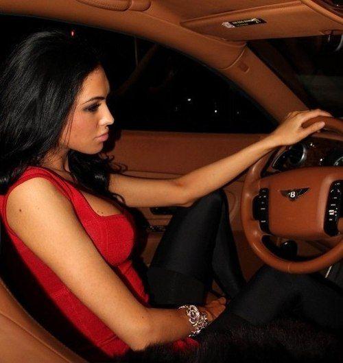 Gorgeous Custom Bentley: A Beautiful Girl In A Bentley - LUXE
