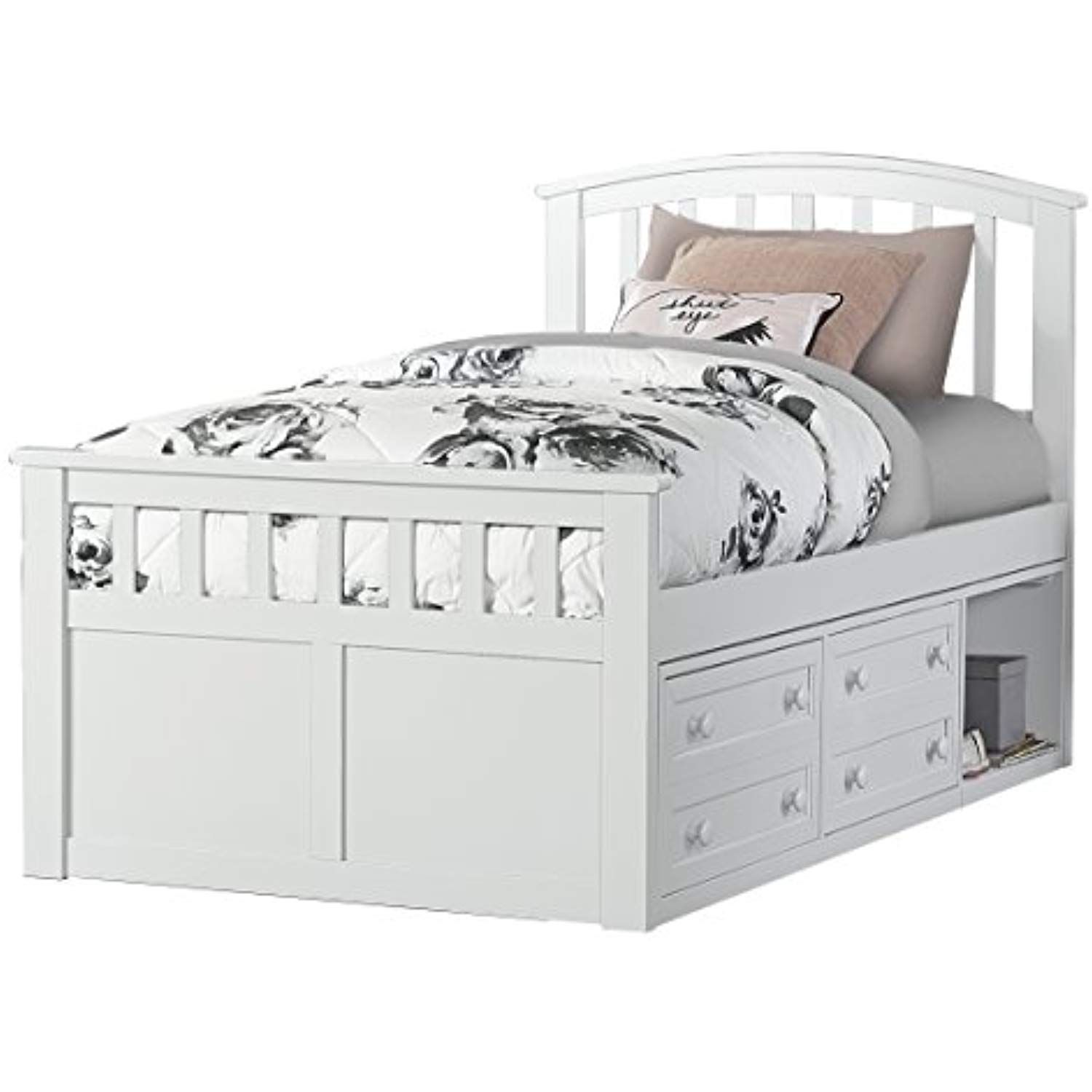 Best Ne Kids 2184Cctb Hillsdale Charlie Captains Bed With One 640 x 480