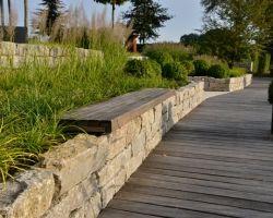 Natursteinmauer Gartenmauer Selber Bauen Steine Verfugen