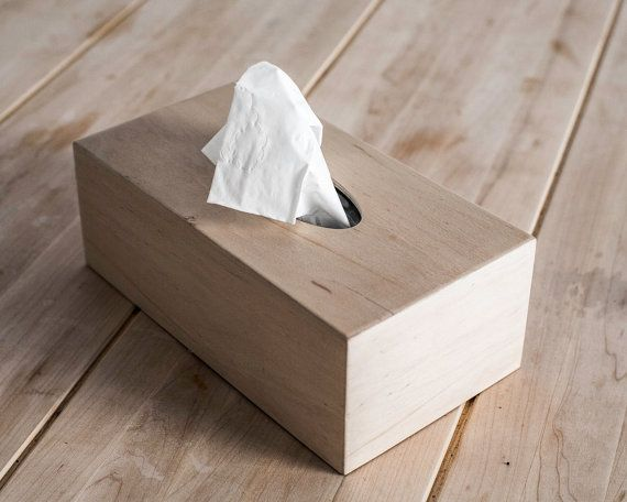 Tissue Box Cover Napkin Holder Birch Plywood Covered By Thin Layer Of Ash Veneer Kitchen Decor On Etsy 29 00