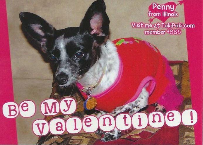 Won't you be my Valentine?