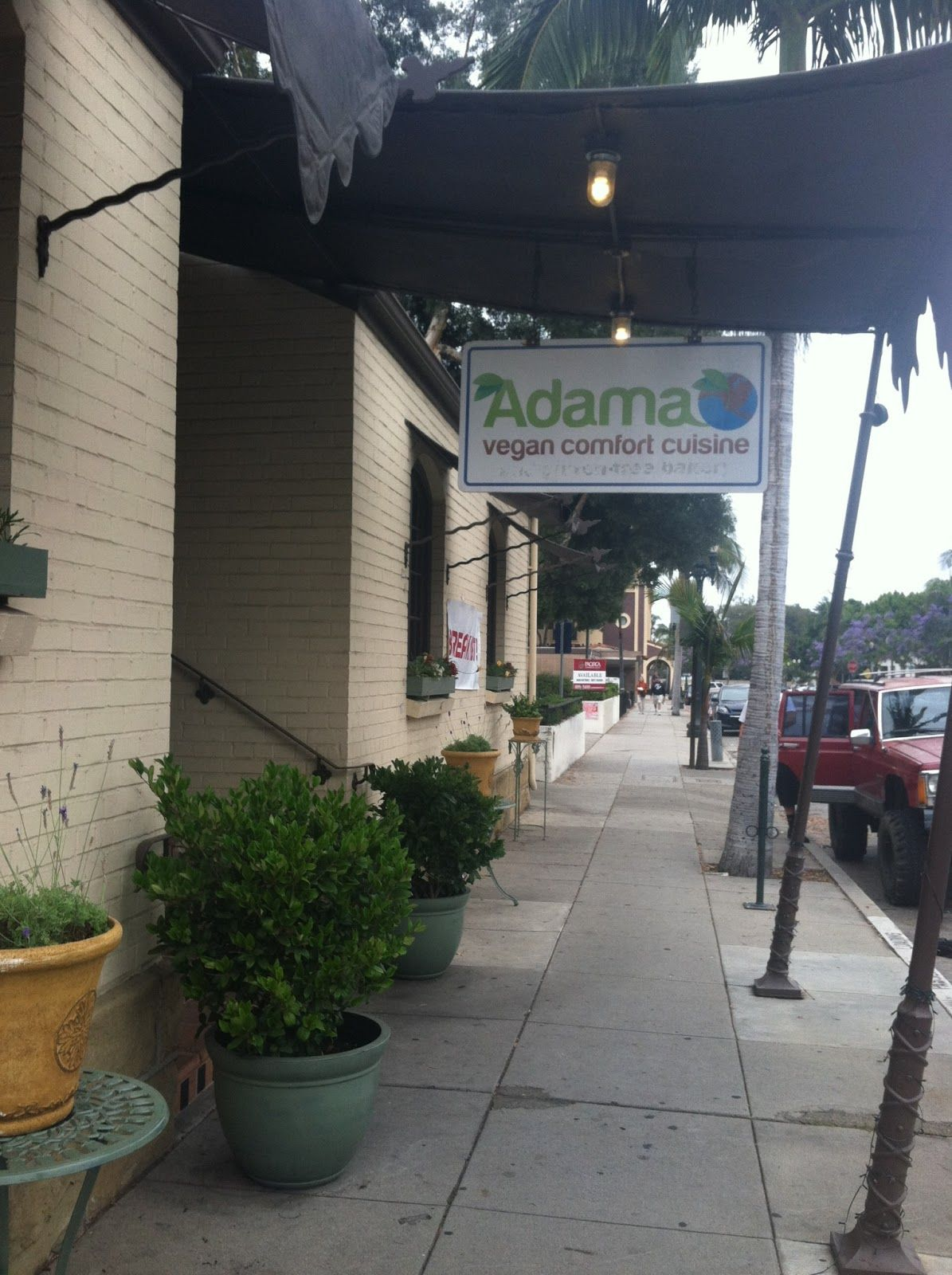 Santa Barbara Vegan Restaurant Adama Organic Plant Based And Gluten Free Food