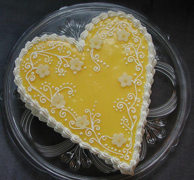 лимонный тортик фото