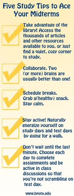 Study #Tips #Advice #School #College #University #Midterms #Test ...
