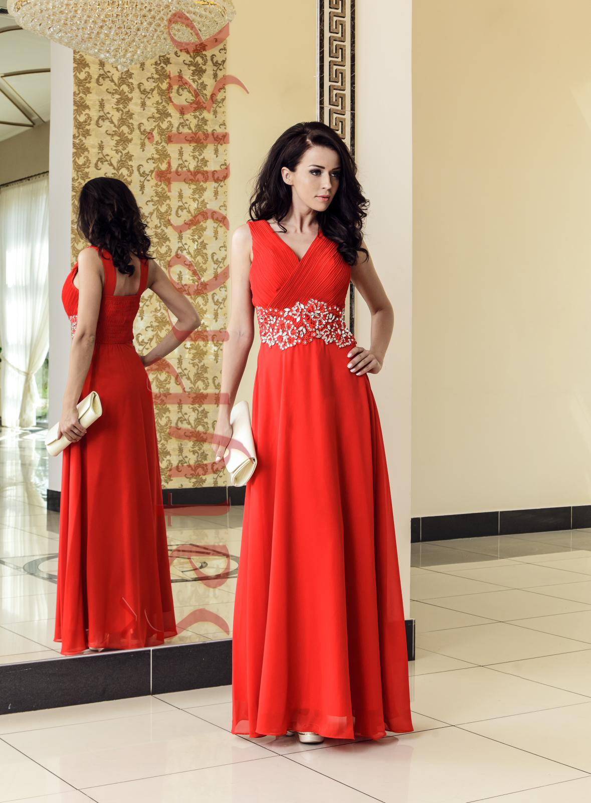 Spoločenské šaty dlhe Anola  06bf6b99e16