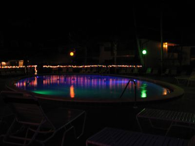 String Lights Around The Pool : string lights around pool... this will be happening lol Home - Pool Pinterest