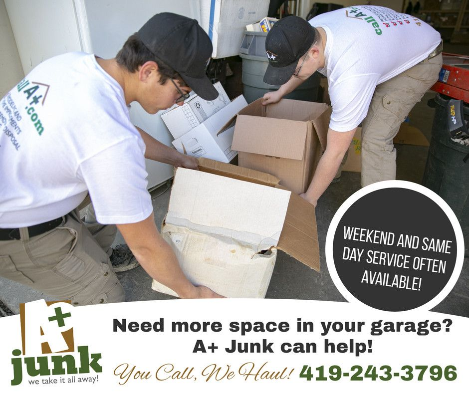 Is your garage so full of junk you can't even park your