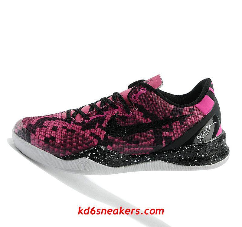04af6cab8db8 Nike Kobe VIII 8 New Peach snake Color 2014 Basketball Shoes