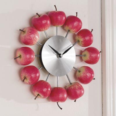 Apple Clock Clock Apple Kitchen Decor Apple Decorations