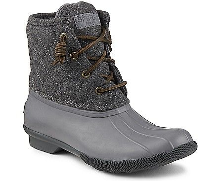 091713286497 Sperry Top-Sider Women s Saltwater Quilted Wool Duck Boot