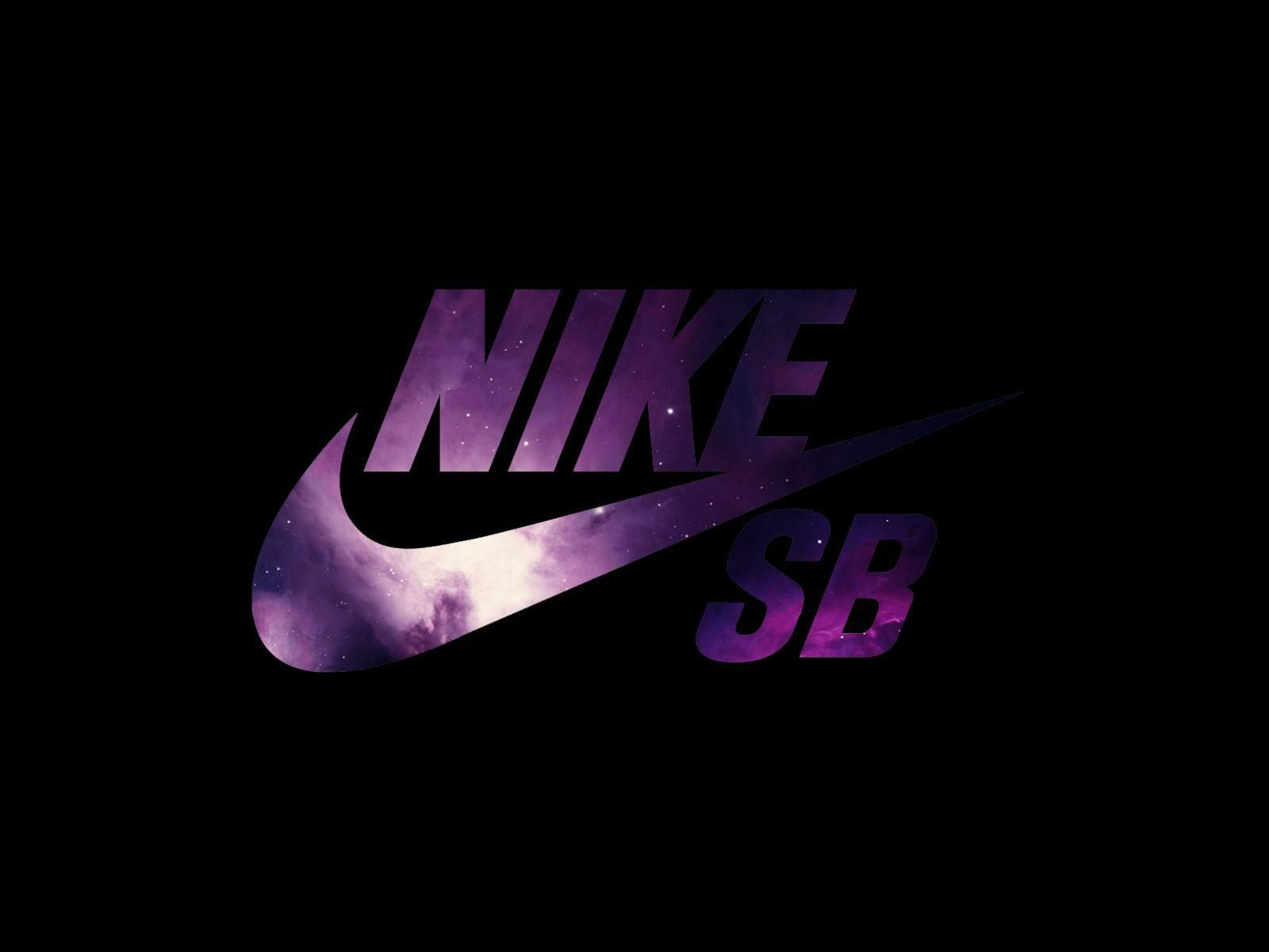 Logo Nike wallpaper purple foto