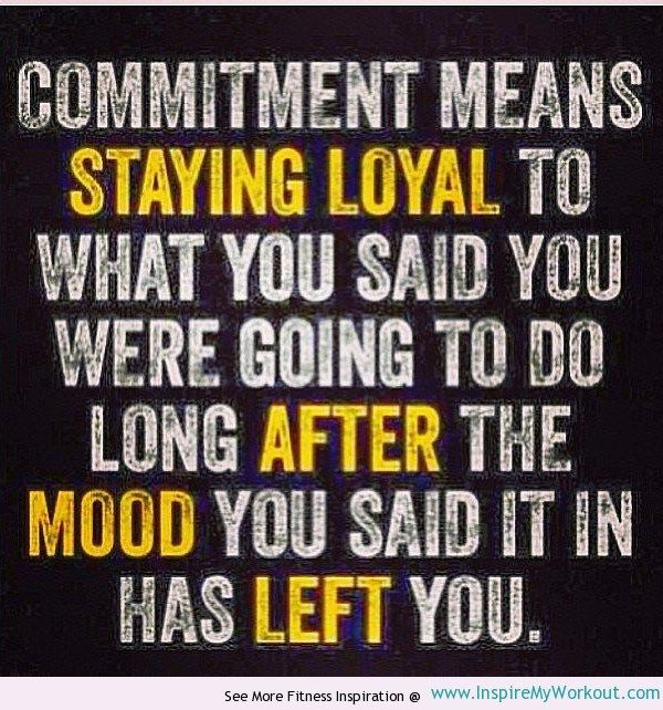 Commitment   Inspirational Fitness Quote   InspireMyWorkout