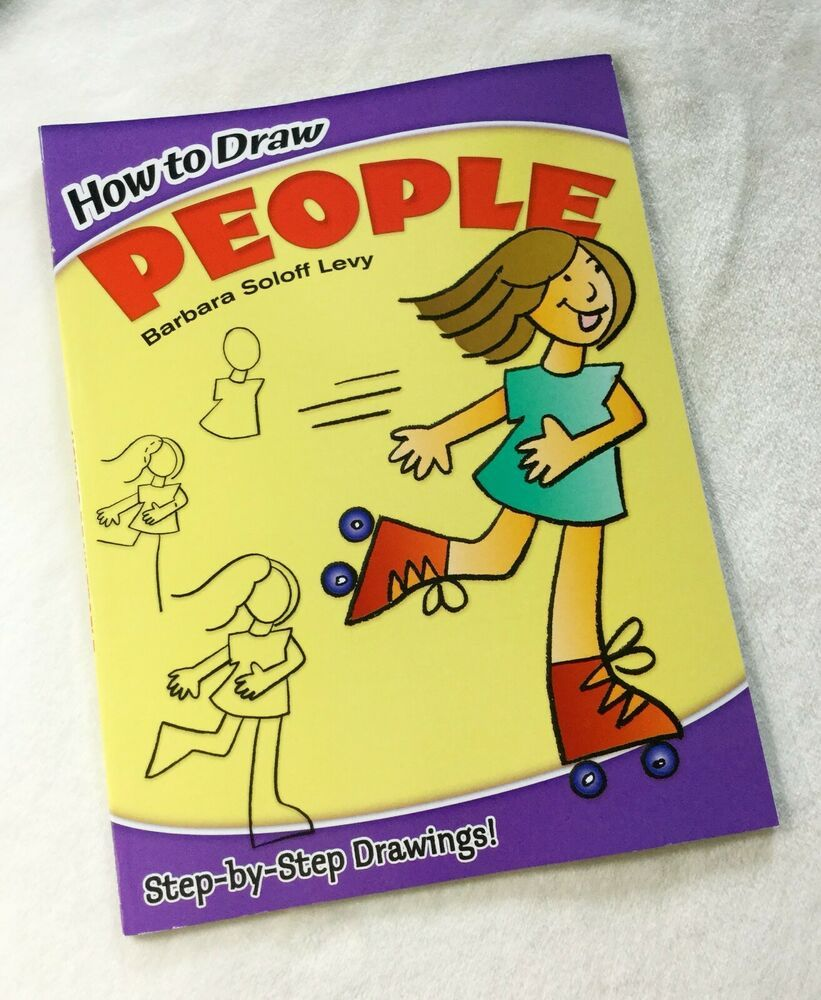 New Dover How To Draw People Kids Step By