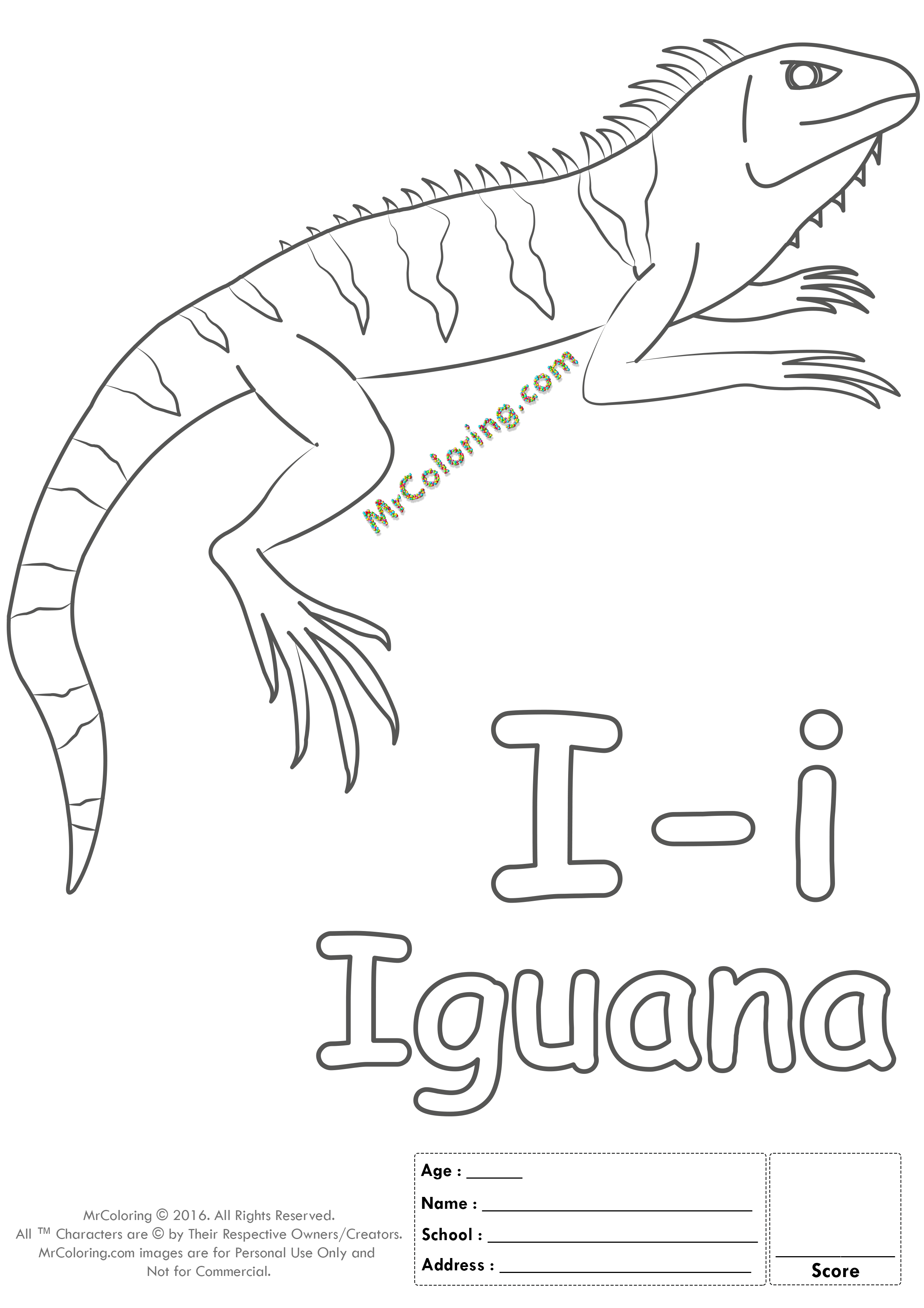 Alphabet Letter Ii Coloring Pages Coloring Worksheets
