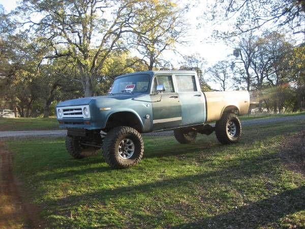 1970 International Harvester Ih Pickup Truck Crew Cab Project
