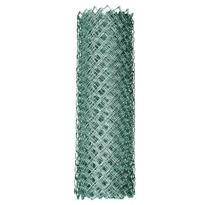 Yardgard 6 Ft X 50 Ft 11 5 Gauge Galvanized Steel Chain Link Fabric 308706a The Home Depot Fence Fabric Chain Link Fence Chain Link Fence Cost