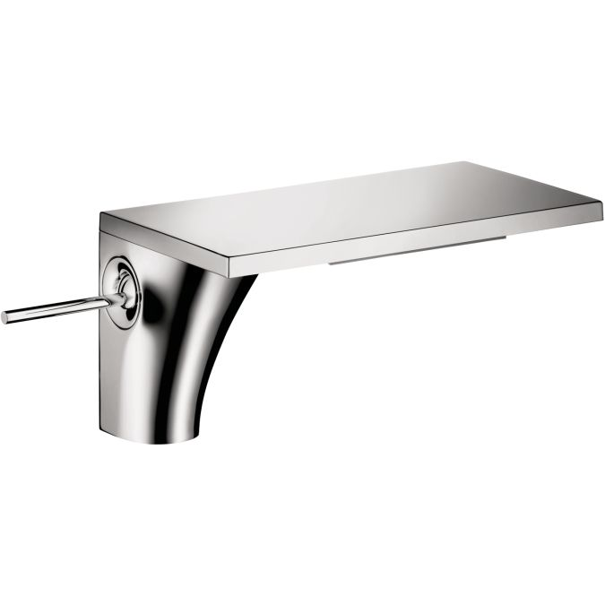hansgrohe bathroom faucet.  Hansgrohe Axor Massaud Flat Chrome Grey Bathroom Faucet