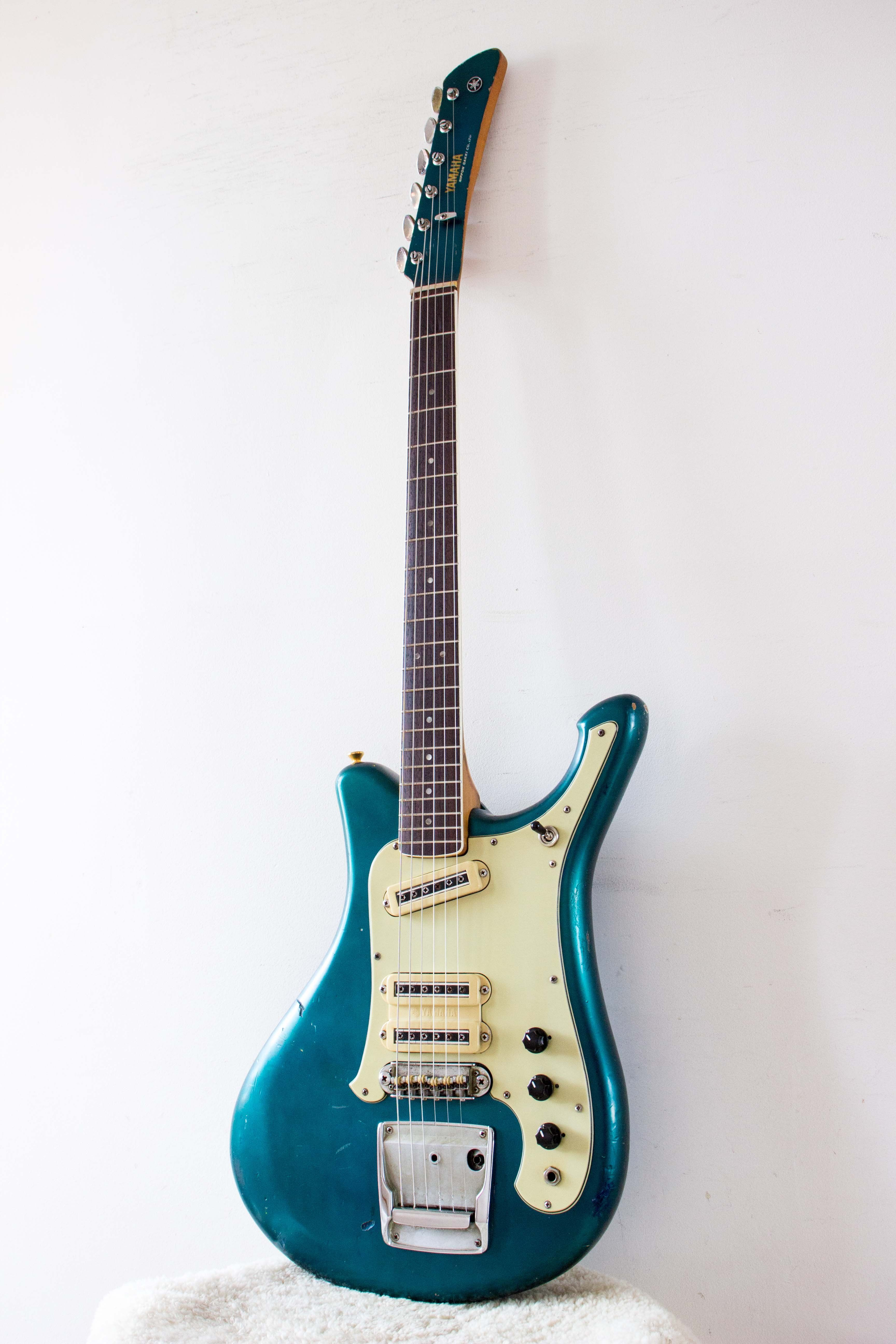 Yamaha Sg 5a Flying Samurai Pearl Blue 1968 Topshelf Instruments Reverb Yamaha Samurai Guitar