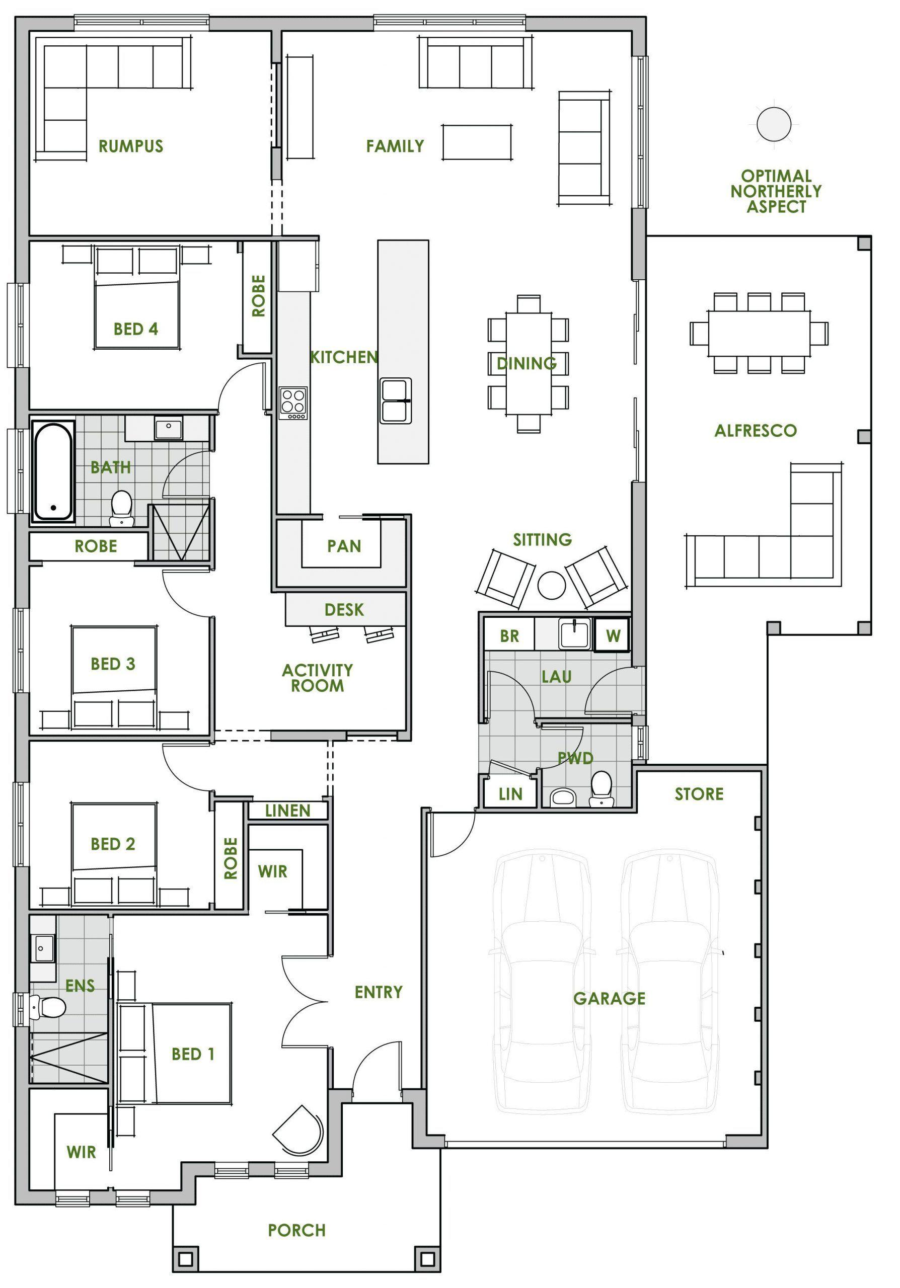 Small Efficient Home Designs 2021 Eco House Plans Floor Plan Design House Plans Australia