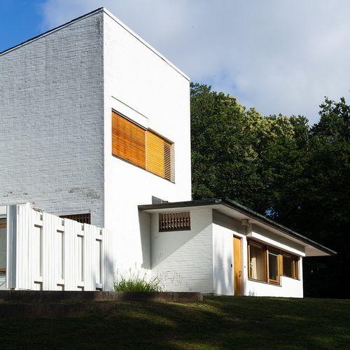 Maison Louis Carré. Alvar Aalto. Bazoches- sur- Guyonne, France ...