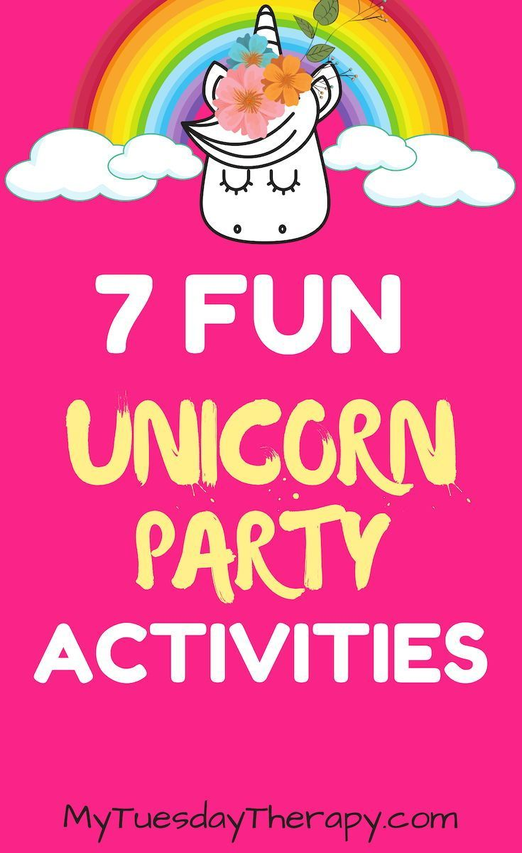 27 Sparkling Fun Unicorn Party Ideas - Unicorn themed birthday party, Toddler party games, Birthday games for kids, Girls party games, Girls birthday games, Unicorn themed birthday - Unicorns  These magnificent, mystical creatures have fascinated people for centuries  Today they are more popular than ever  You might have even attended a unicorn birthday party or baby shower  And now you'll get to host one yourself! You'll be inspired by these ideas to throw the most magical unicorn party! Enter the world of unicorns, dreams and wonder  Gallop over the rainbow and relish desserts covered in sprinkles  This post contains affiliate links  If you make a purchase after clicking one of those links I might get a small commission at no extra cost to you  Unicorn Party
