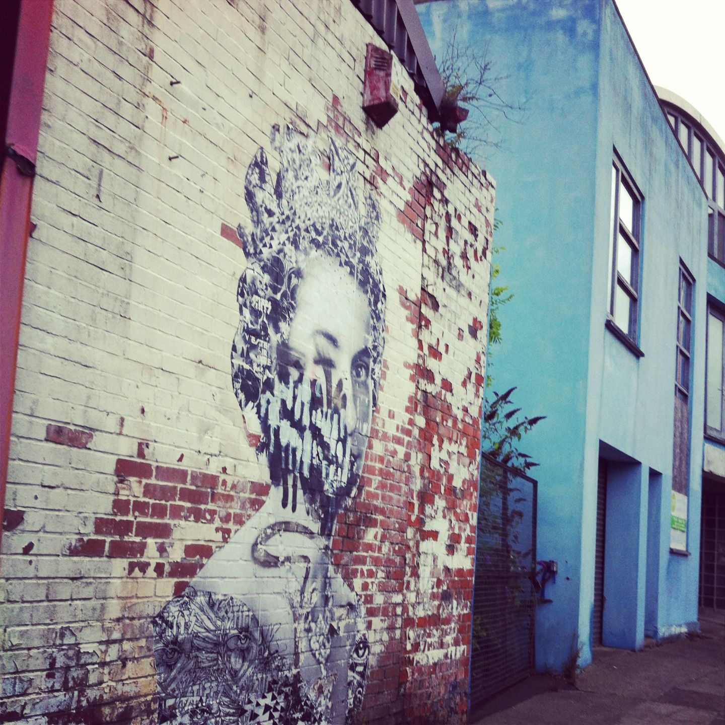 God Save The Queen, Ouseburn, Newcastle