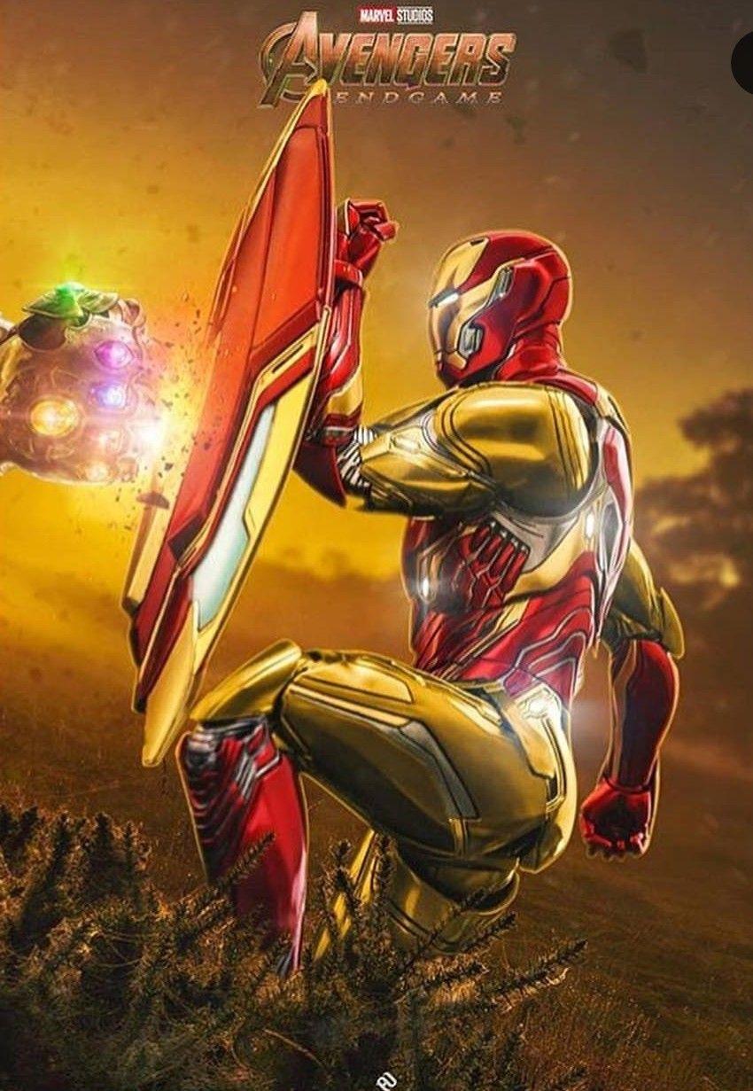Iron Man Stops Thanos Endgame Art Marvel Iron Man Iron Man Iron Man Avengers