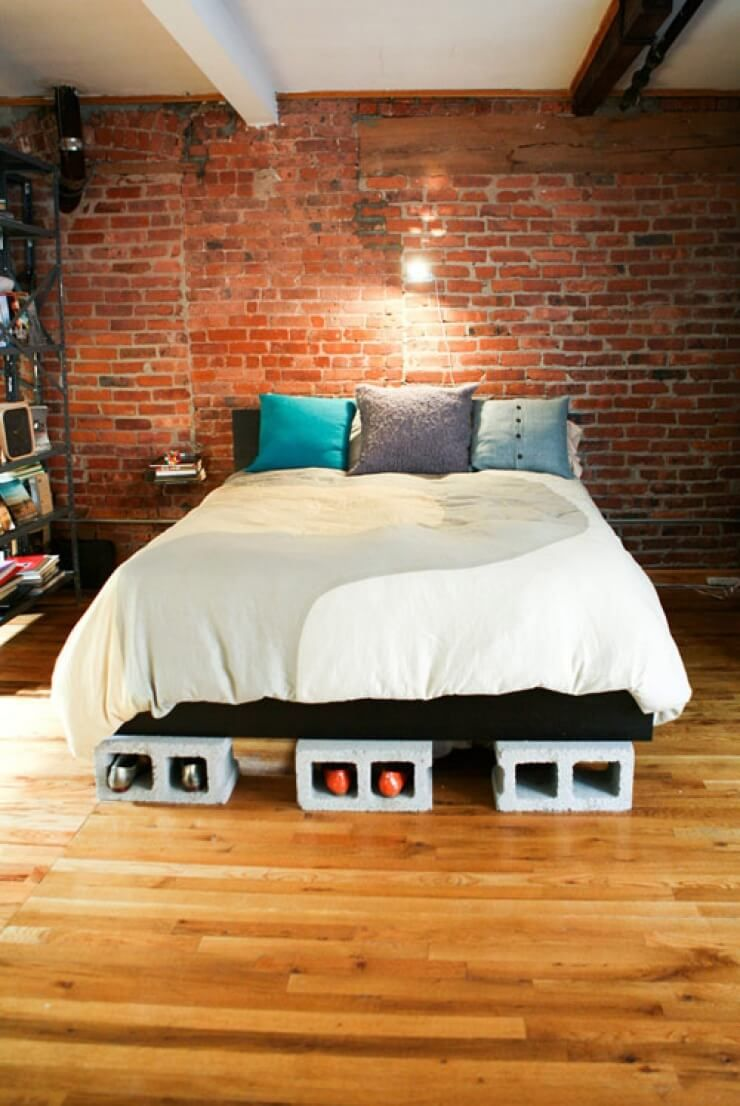 28 Practical Functional And Creative Ways To Use Cinder Blocks