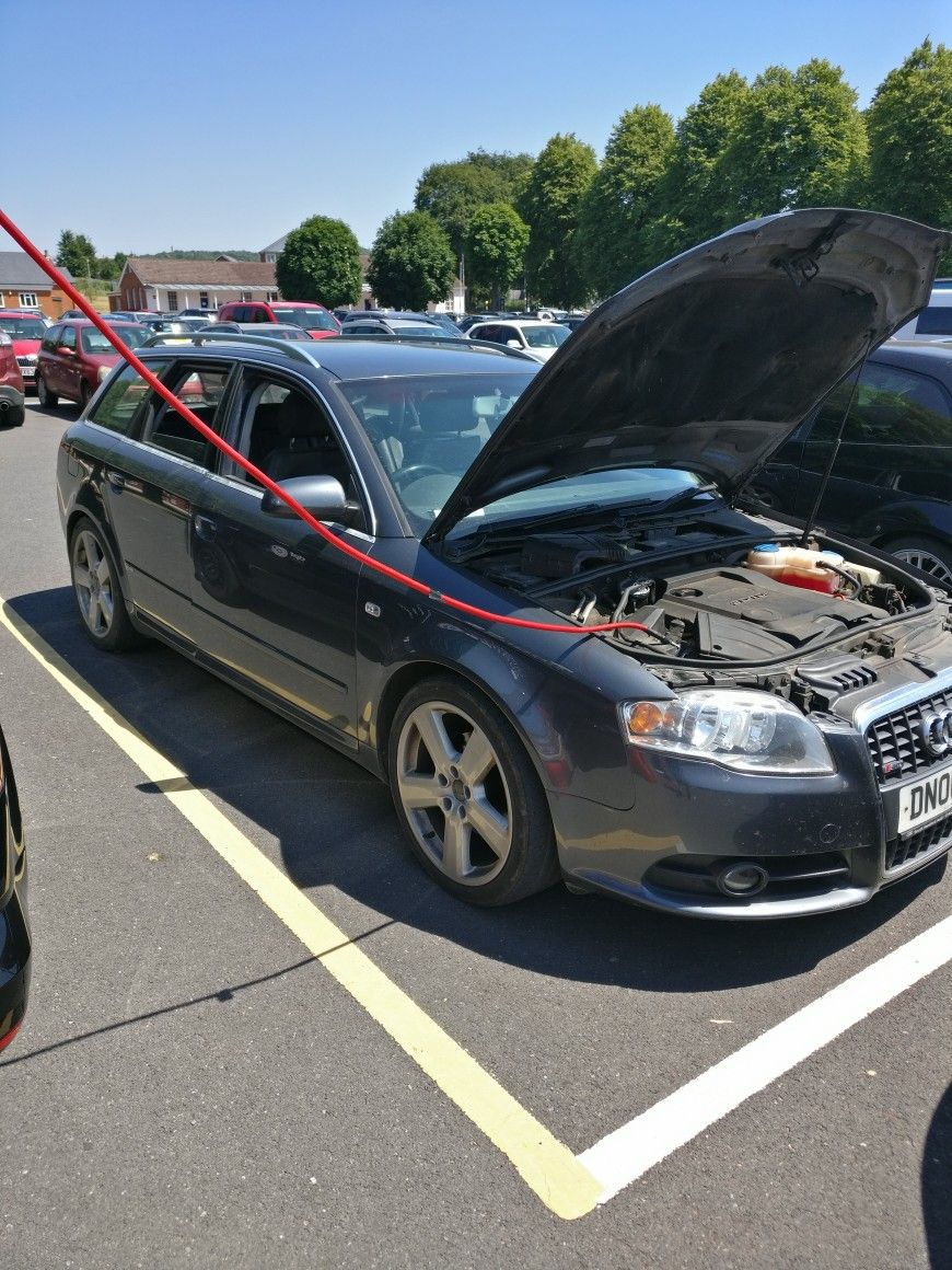This Audi A4 2 0 TDi needs a new turbo according to the garage  It