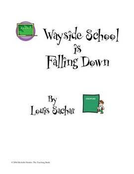 Wayside School is Falling Down Teaching Novel Unit