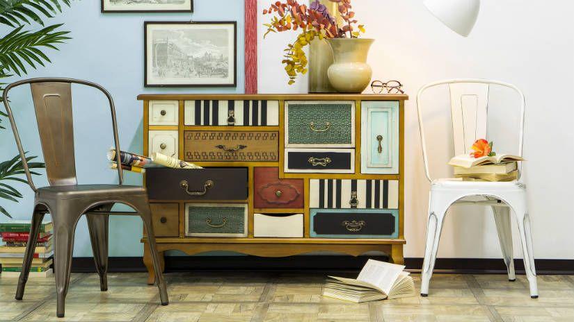 Arredamento Boho Style : Arredamento anni 50 sedie consolle cassettiera design pinterest