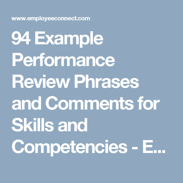 Pin By Monique Zarate On Work Performance Evaluation