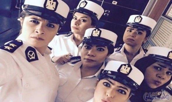 البوليس النسائي كوميدي ولم يتعمق في الشخصية عادت من جديد إلى الشاشة شخصيات البوليس النسائي للمنافسة بقوة من خلال فيلم أبو شنب ا With Images Captain Hat Captain Fashion