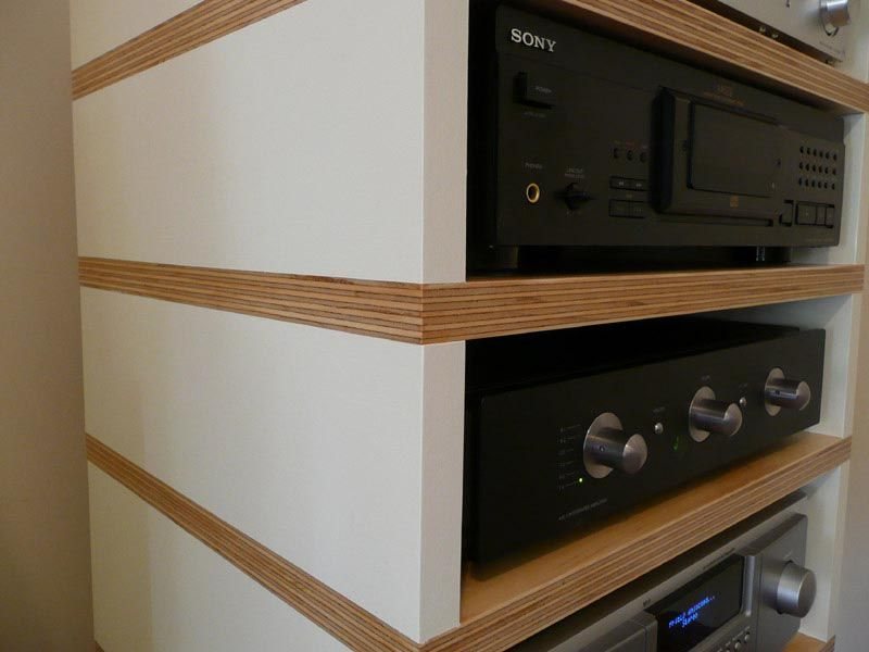 diy av cabinet meuble cd vinyles mobilier de salon bricolage home cinemas