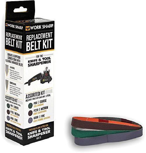 Work Sharp Knife & Tool Sharpener, WSKTS,  Belt Kit,New Free Shipping #WorkSharp