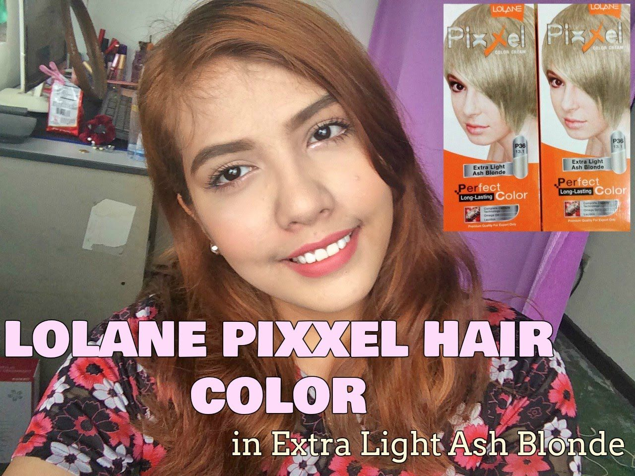 LOLANE PIXXEL HAIR COLOR IN EXTRA LIGHT ASH BLONDE (Philippines) | ♡Dais... #lightashblonde