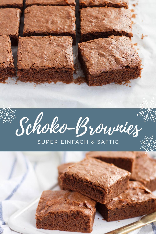 Brownies mit Schokolade