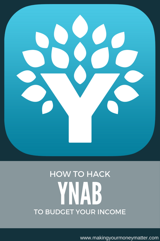 how i hack ynab to budget my income making your money matter blog