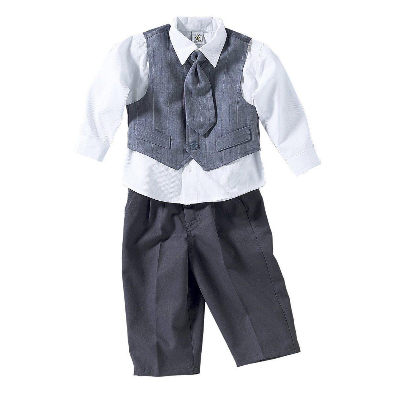 BORNINO Anzug 4-tlg. Baby-Anzug: BORNINO: Amazon.de: Baby ...