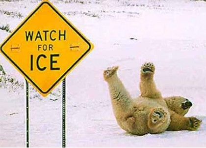 Ice Warning!